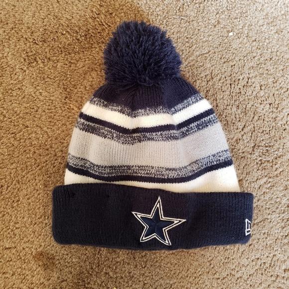 ba4b7e367217a3 New Era Accessories | Dallas Cowboys Knit Pom Beanie Hat | Poshmark